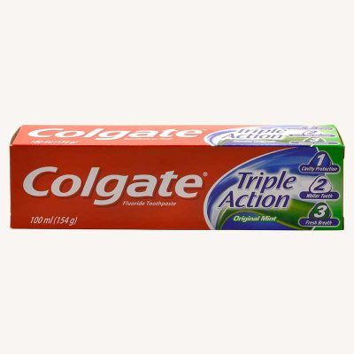 قیمت خمیر دندان کلگیت تریپل اکشن