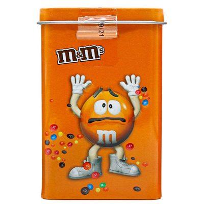 اسمارتیز ام اند ام قوطی نارنجی فلزی