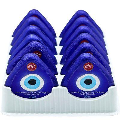 شکلات الیت چشم نظر آبی