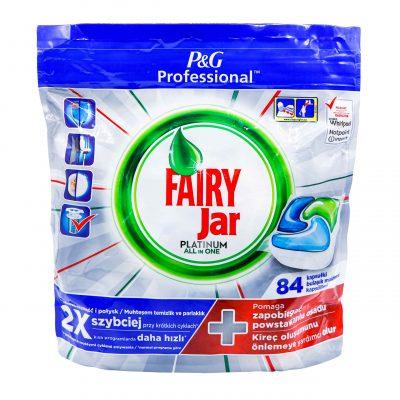 قیمت قرص ماشین ظرفشویی جار پلاتینیوم فیری 84 عددی FAIRY JAR PLATINUM