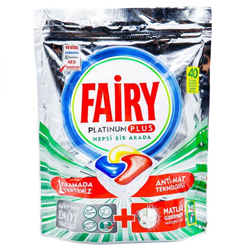 خرید قرص ماشین ظرفشویی پلاتینیوم پلاس فیری FAIRY PLATINUM PLUS