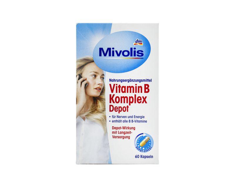 خرید ویتامین ب کمپلکس میولیسB COMPLEX MIVOLIS