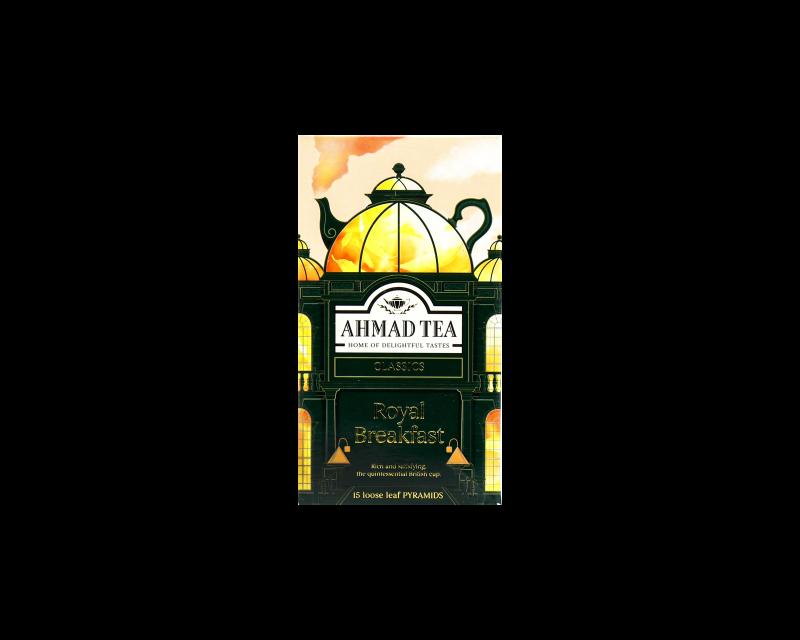 خرید دمنوش royal breakfast-AHMAD TEA