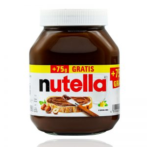شکلات صبحانه فندقی 825 گرمی نوتلا (Nutella)