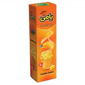 چیپس همسان پذیرایی 90 گرمی پنیر چدار